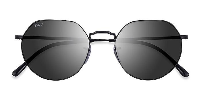 Black Ray-Ban RB3565 Jack -  Metal Sunglasses