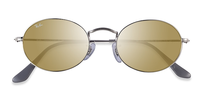 Silver Ray-Ban RB3547 -  Metal Sunglasses