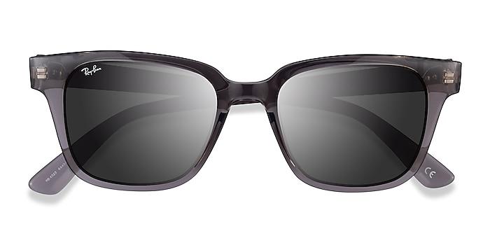 Transparent Gray Ray-Ban RB4323 -  Plastic Sunglasses