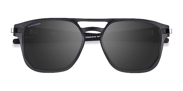 Matte Black Oakley Latch Beta -  Plastic Sunglasses