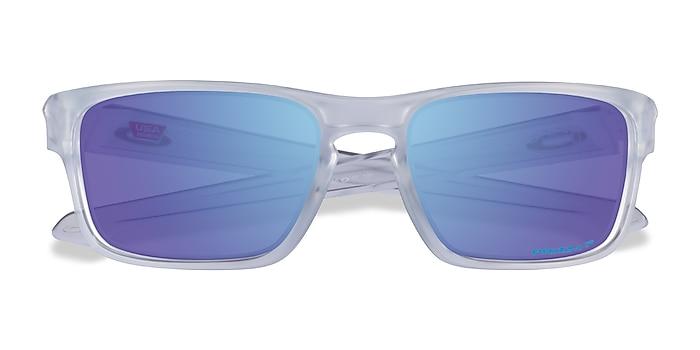 Clear Oakley Sliver -  Plastic Sunglasses