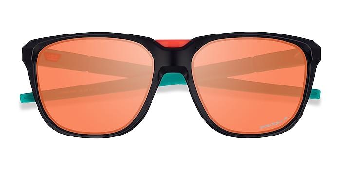 Black Oakley Anorak -  Plastic Sunglasses