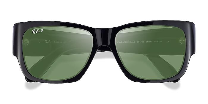 Black Ray-Ban RB2187 -  Acetate Sunglasses