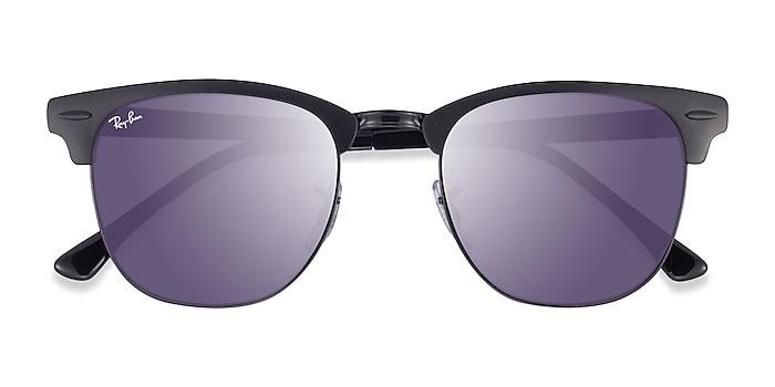 Matte Black On Black Ray-Ban RB3716 -  Acetate Sunglasses
