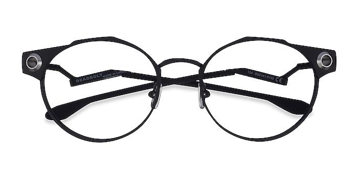 Black Oakley Deadbolt -  Titanium Eyeglasses