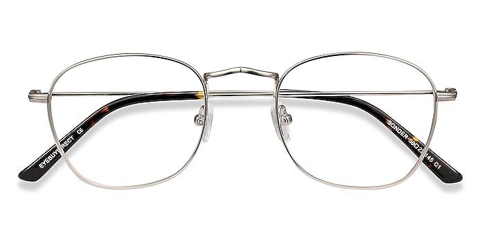 Silver Sonder -  Vintage Metal Eyeglasses