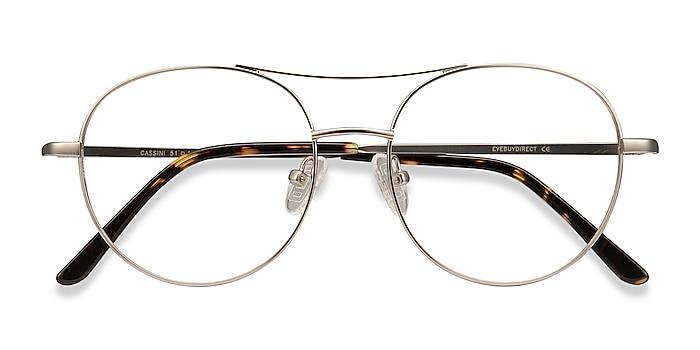 Silver Cassini -  Vintage Metal Eyeglasses