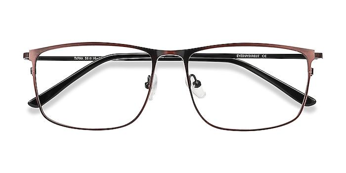 Red Typha -  Lightweight Metal Eyeglasses