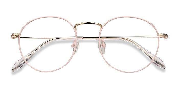 Matte Pink Wistful -  Légères Métal Lunettes de vue