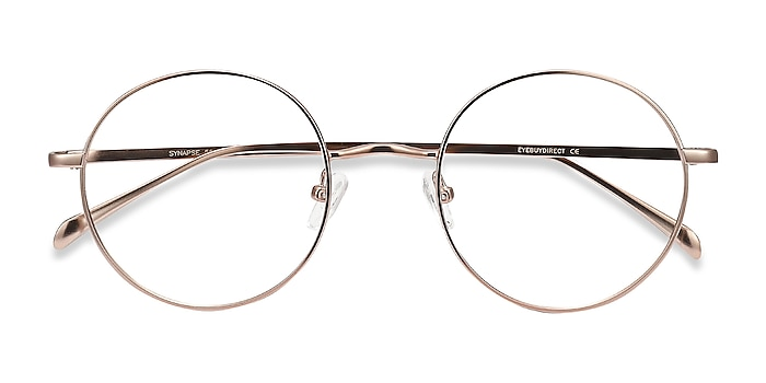 Rose Gold Synapse -  Fashion Metal Eyeglasses