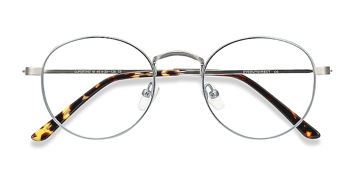 Frost Blue Cupertino -  Vintage Metal Eyeglasses