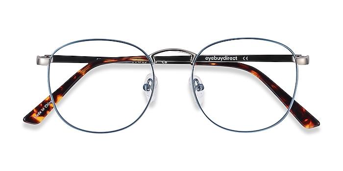 Frost Blue St Michel -  Vintage Metal Eyeglasses