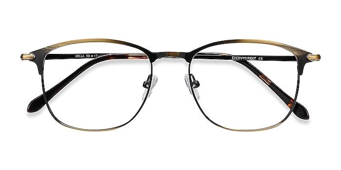 Bronze Cella -  Lightweight Metal Eyeglasses