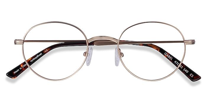 Golden Izabel -  Vintage Metal Eyeglasses