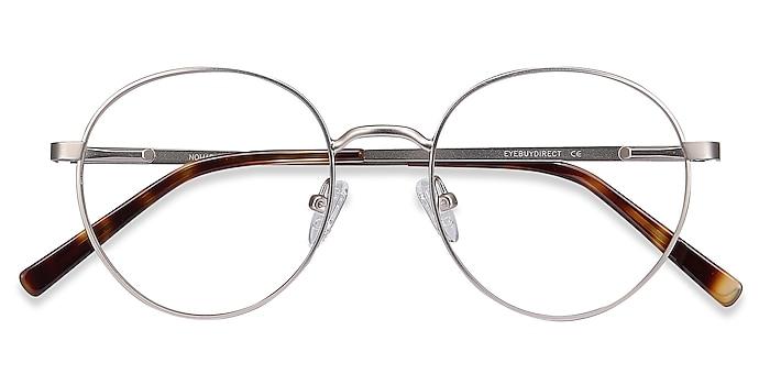 Silver Nomad -  Vintage Metal Eyeglasses