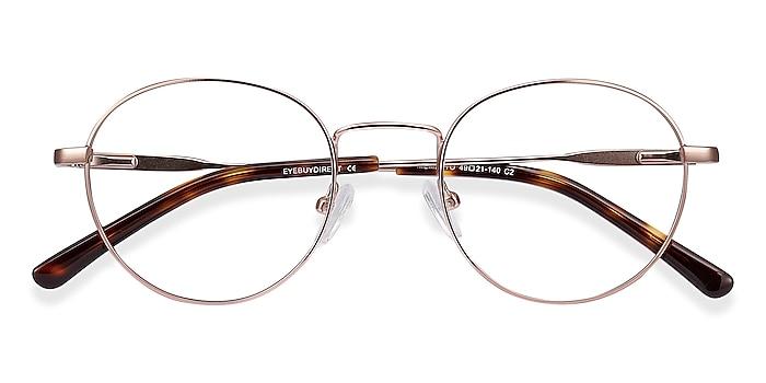 Rose Gold Memento -  Vintage Metal Eyeglasses