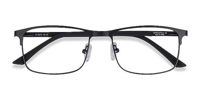 Black Wit -  Lightweight Metal Eyeglasses