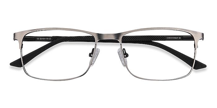 Gunmetal Wit -  Lightweight Metal Eyeglasses