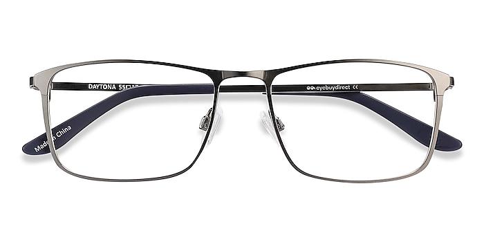 Gunmetal Daytona -  Lightweight Metal Eyeglasses