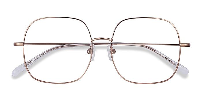 Rose Gold Movement -  Fashion Metal Eyeglasses