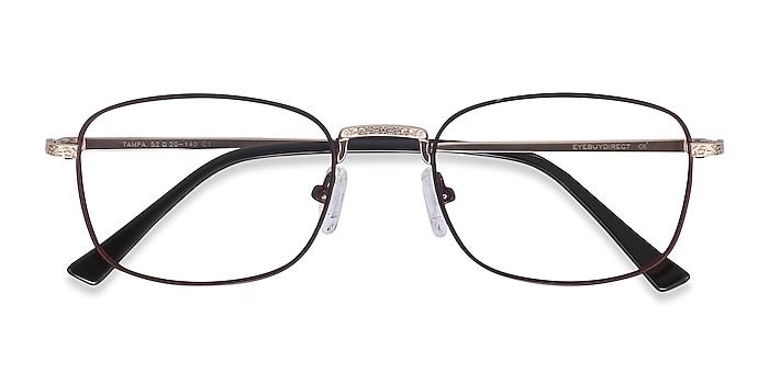 Red Tampa -  Colorful Metal Eyeglasses