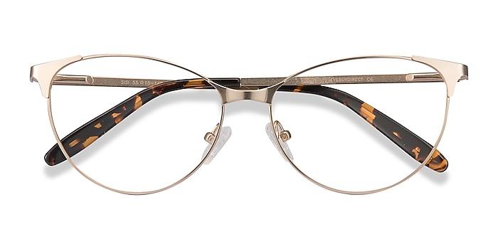 Rose Gold Sisi -  Vintage Metal Eyeglasses