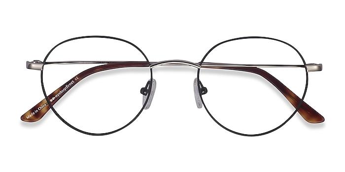 Black Retell -  Lightweight Metal Eyeglasses