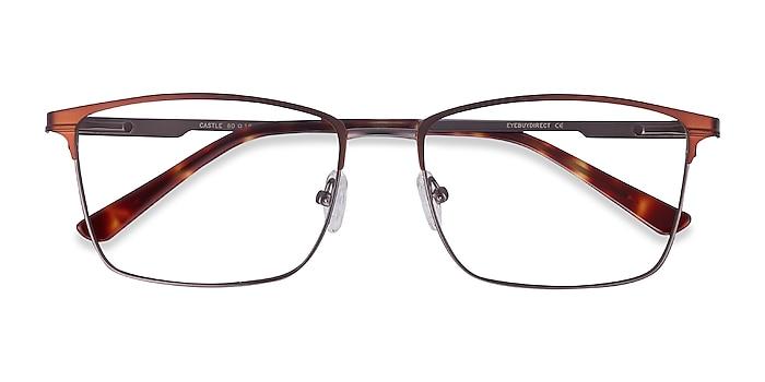 Coffee Castle -  Metal Eyeglasses
