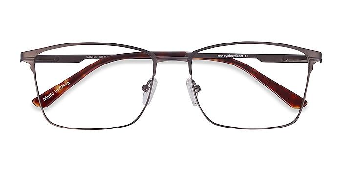 Gunmetal Castle -  Metal Eyeglasses