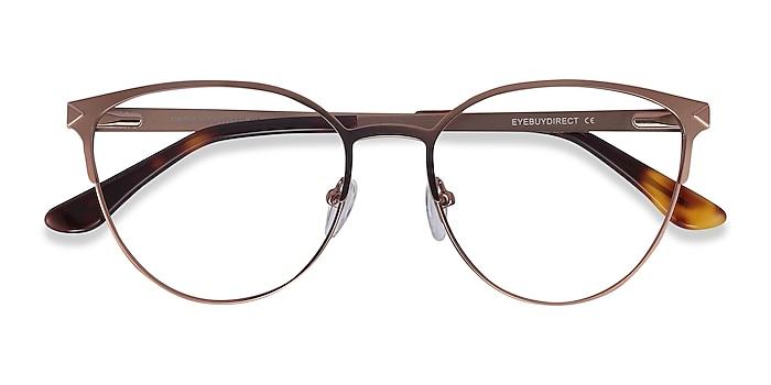 Rose Gold Nadia -  Vintage Metal Eyeglasses