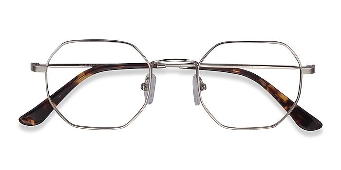 Silver Soar -  Vintage Metal Eyeglasses