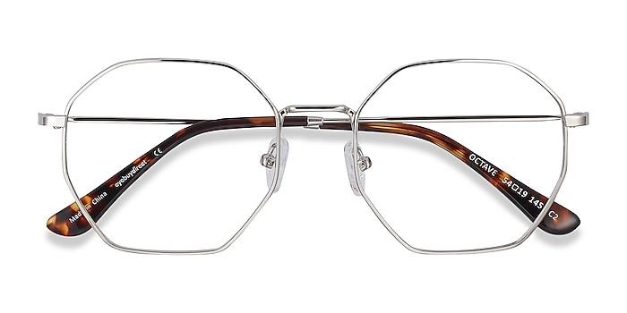 Silver Octave -  Vintage Metal Eyeglasses