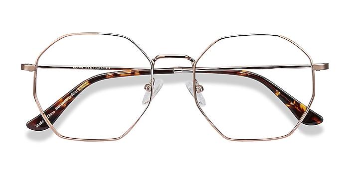 Rose Gold Octave -  Vintage Metal Eyeglasses