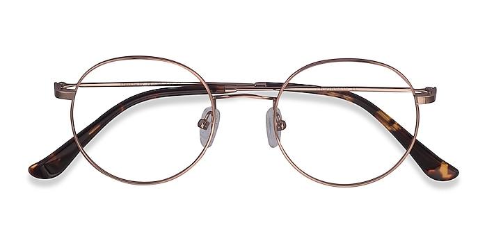Rose Gold Streetwise -  Vintage Metal Eyeglasses