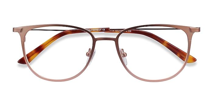 Rose Gold Vita -  Metal Eyeglasses