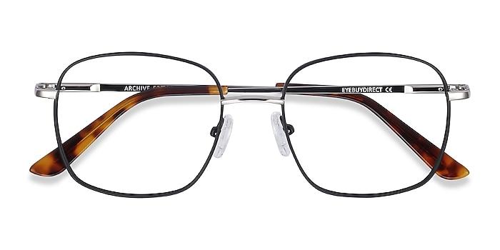 Black Archive -  Vintage Metal Eyeglasses