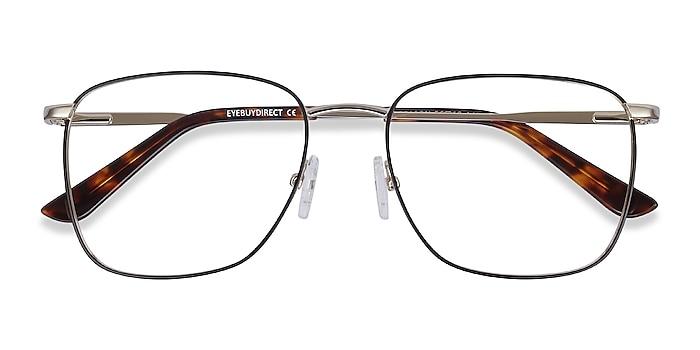 Black Gold Reason -  Fashion Metal Eyeglasses