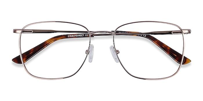 Rose Gold Reason -  Vintage Metal Eyeglasses
