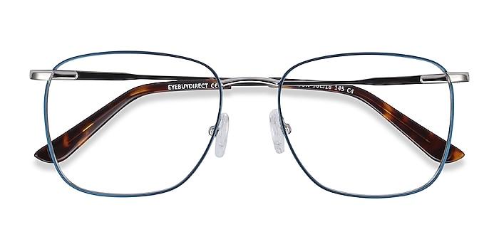 Navy Reason -  Vintage Metal Eyeglasses