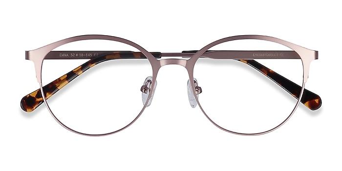 Pink Emma -  Lightweight Metal Eyeglasses
