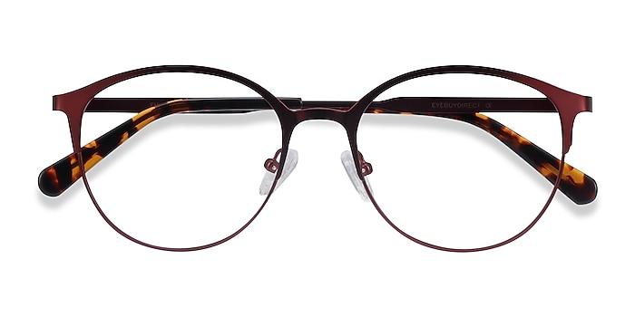 Red Emma -  Lightweight Metal Eyeglasses