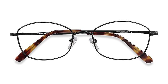 Black Betty -  Lightweight Metal Eyeglasses