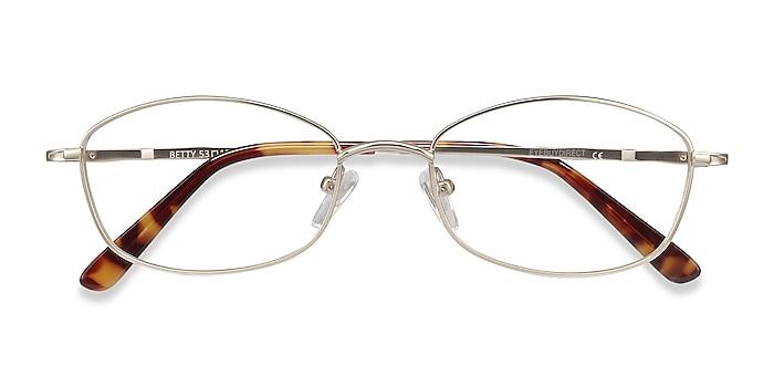 Gold Betty -  Lightweight Metal Eyeglasses