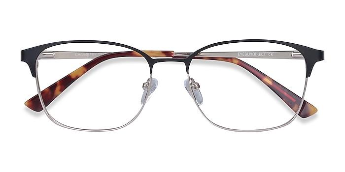 Black Chambery -  Metal Eyeglasses