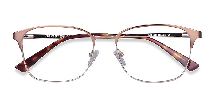 Rose Gold Chambery -  Metal Eyeglasses