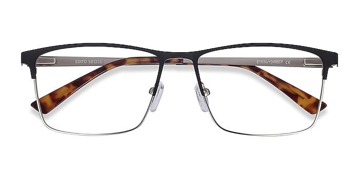 Black Edito -  Metal Eyeglasses