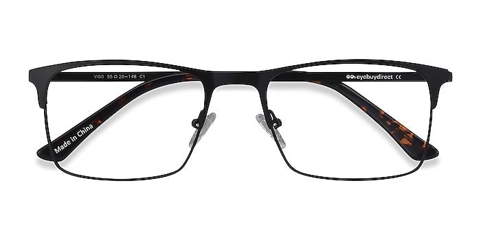 Black Vigo -  Metal Eyeglasses
