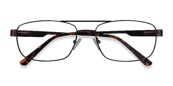 Coffee Stan -  Vintage Metal Eyeglasses