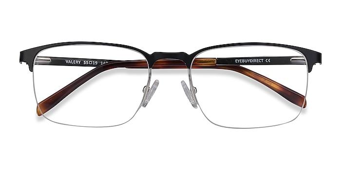 Black Valery -  Metal Eyeglasses