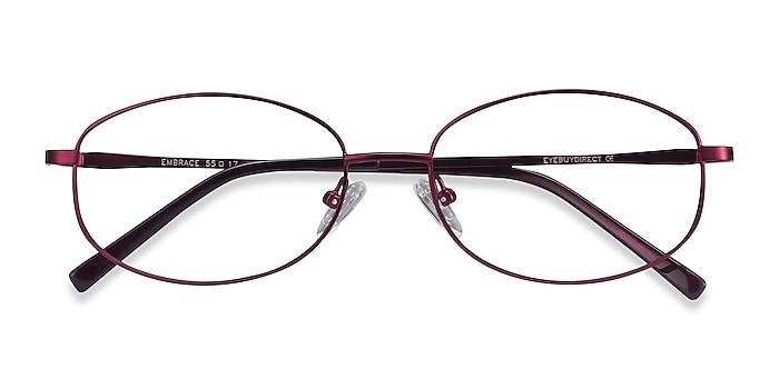Purple Embrace -  Lightweight Metal Eyeglasses